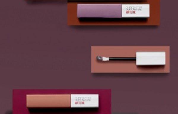 Maybelline New-York: שפתונים ב-7 גווני ניוד