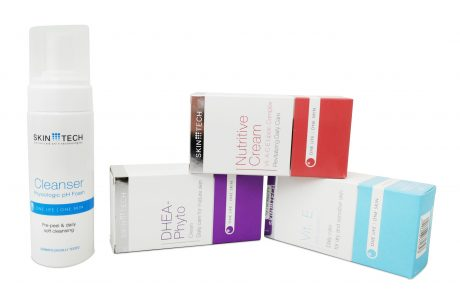 SKINTECH: מוצרי טיפוח להשלמת טיפולי פנים ועור
