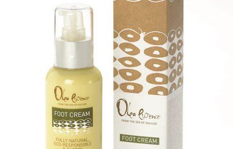 Olea essence: קרם רגליים