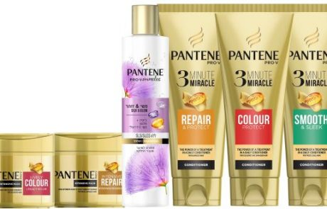 פנטן: סדרת מוצרים לשיער שעבר החלקה
