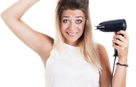 טיפים לשמירת שיער יבש ביום רטוב