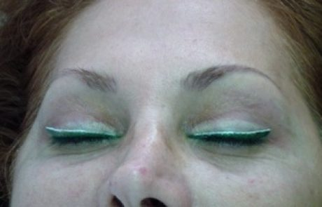 תיקונים ושחזורים בטכניקת ההצללה באיפור קבוע