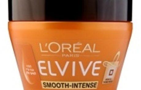 L'OREAL PARIS: מסכת טיפוח שיער ELVIVE SMOOTH INTENSE