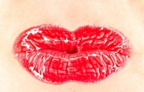 השפתיים שלי בשפתון אדום