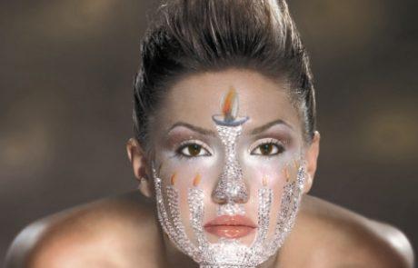 איפור עור שמנוני
