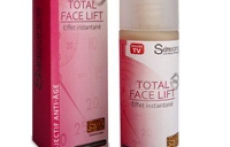 Total Face Lift: ג'ל ייחודי לצמצום קמטים בעור הפנים