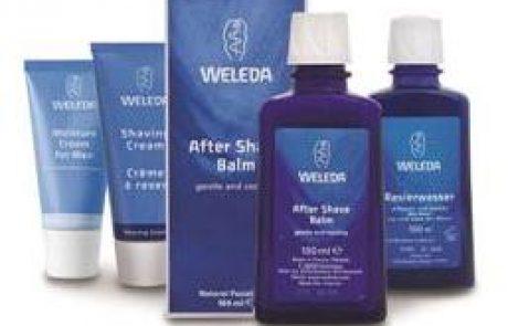 WELEDA: סדרה לגילוח ולטיפוח הגבר