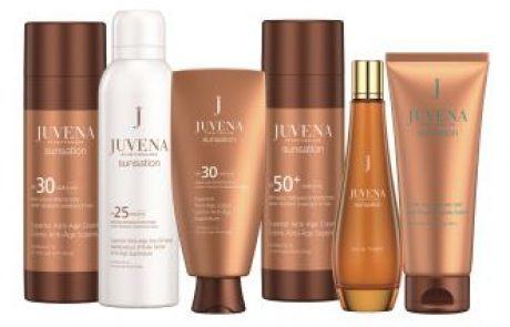 JUVENA: סדרת מוצרי טיפוח אנטי אייג'ינג juvena sunsation