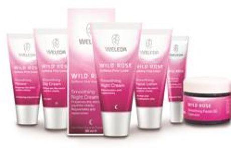 WELEDA: סדרת ורד הבר טיפוח עור הפנים