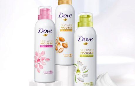 Dove: מוס רחצה וגילוח