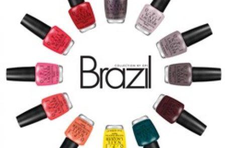 OPI: קולקציית ברזיל לאביב קיץ 2014