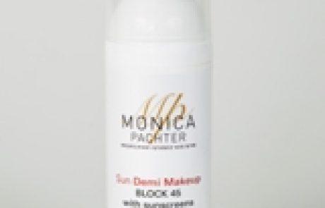 מוניקה פכטר: אנטי איג'ינג SUN BLOCK 45 demi make up