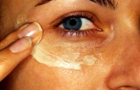העור מסביב לעיניים