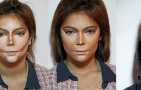 לשנות את מבנה הפנים